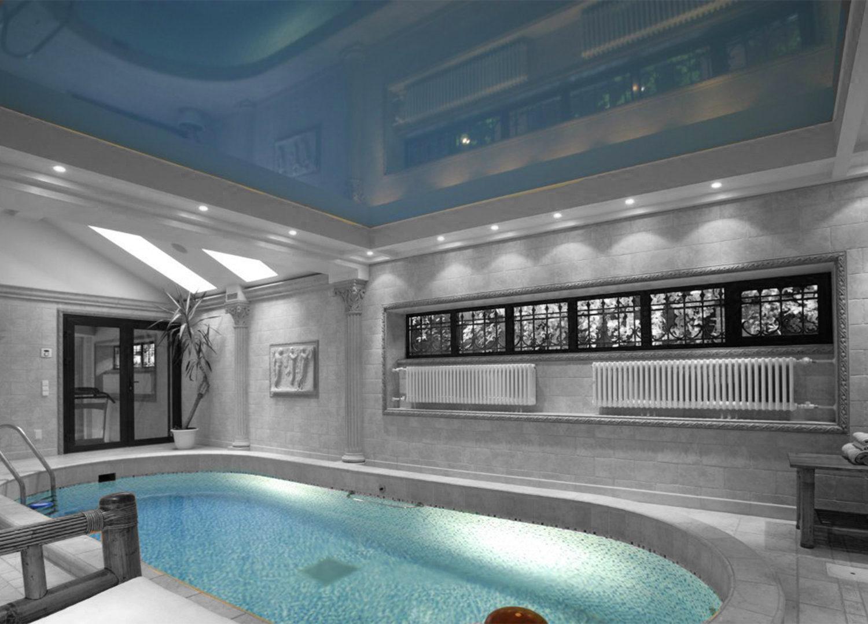 Потолки для бассейна